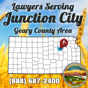 Junction City Car Accident Lawyer Map