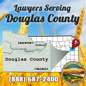 Lawrence Car Accident Lawyer Map