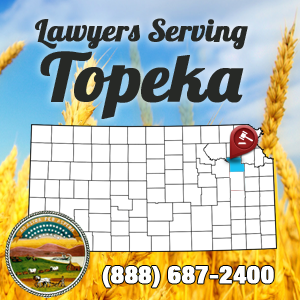 Topeka Car Accident Lawyer Map