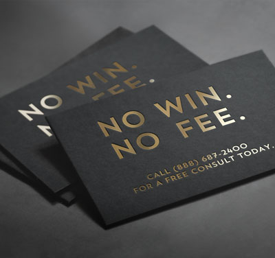 Kansas Lawyers offer a no-win-no-fee agreement.