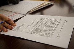 KS Personal Injury Protection (PIP) paperwork photo