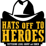 Hats Off To heroes Logo