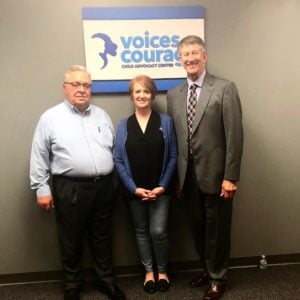 Voices of Courage team