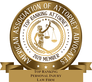 American Association of Attorney Advocates 2020 Top Ranking Attorney